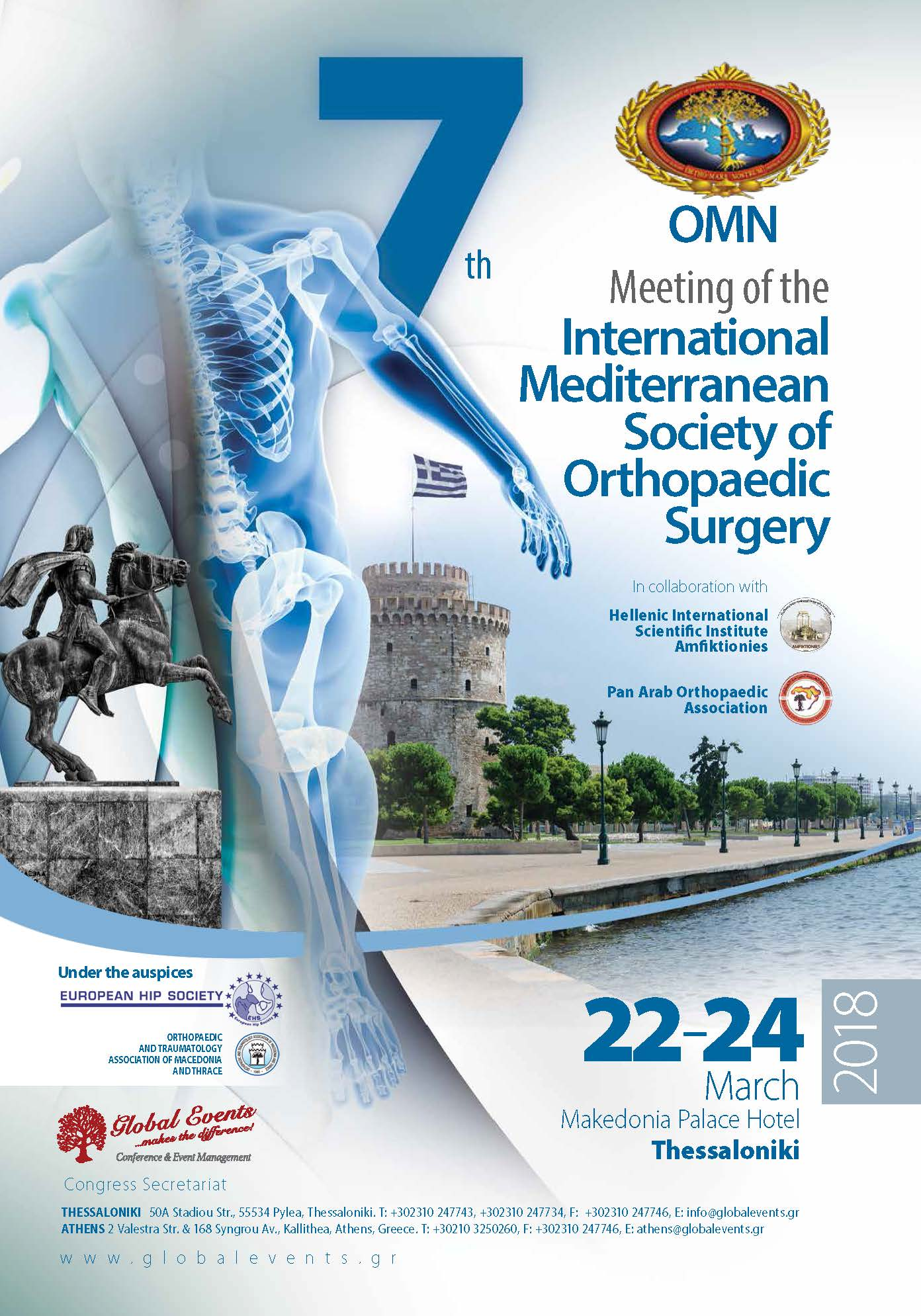 365. 7th Meeting of the International Mediterranean Society of Orthopaedic Surgery