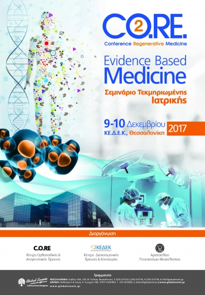 357. CO.RE-2 Conference in Regenerative Medicine: Evidence Based Medicine