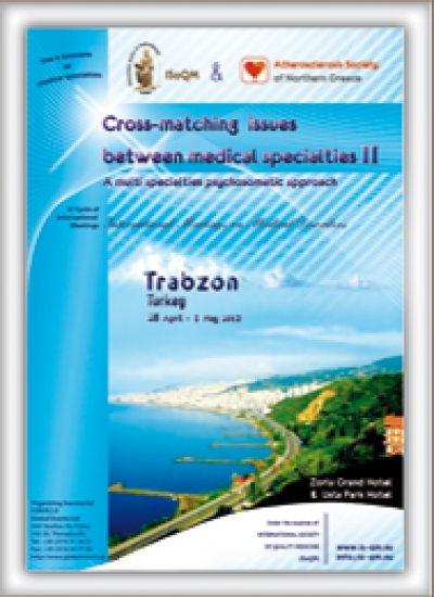 135. Cross-matching issues between medical specialties II - A multi specialties psychosomatic approach  Trabzon, Turkey 2012