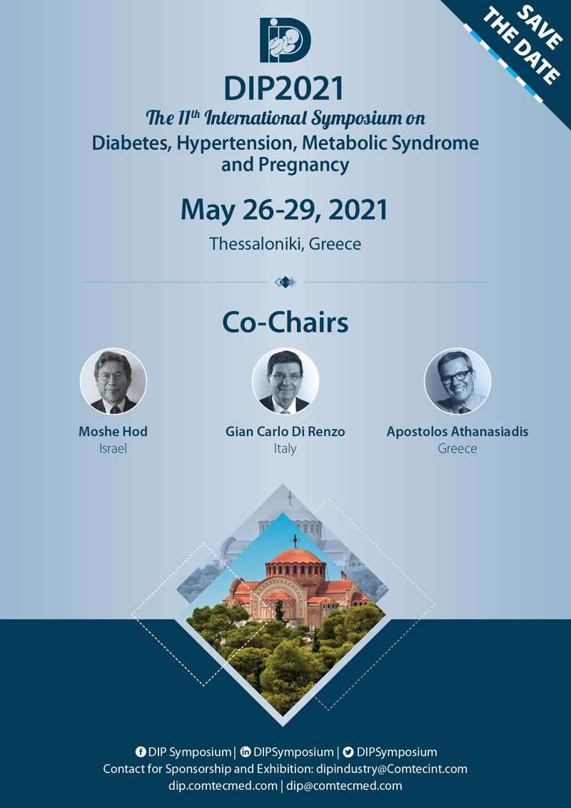 DIP2021 - The 11th International Symposium on Diabetes, Hypertension, Metabolic Syndrome and Pregnancy