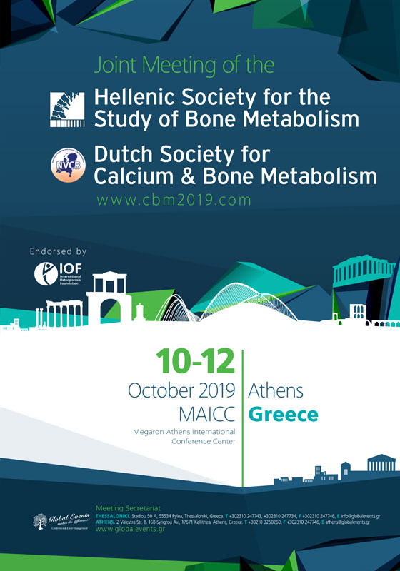 440. Joint meeting of the Hellenic Society for the Study of Bone Metabolism and the Dutch Society for Calcium and Bone Metabolism