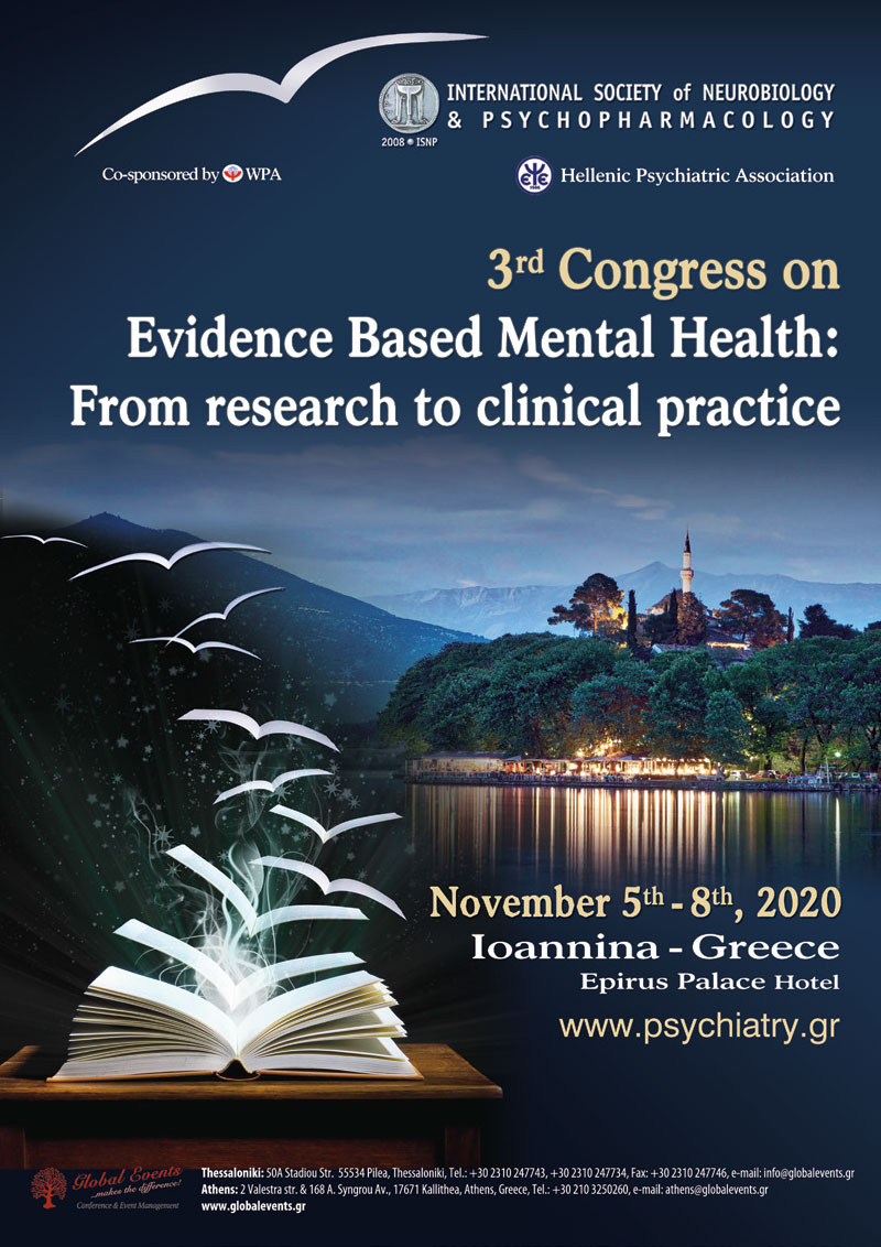 3rd Congress on Evidence Based Mental Health: From research to clinical practice