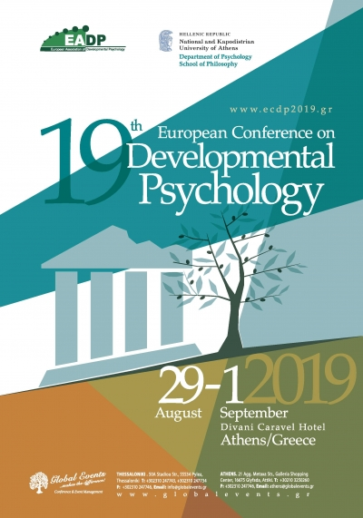 429. 19th European Conference on Developmental Psychology