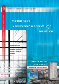 "116. International Meetings on Medical Disorders ""Current Issues in Neurological Diseases & Depression"" Warsaw, Poland, 2011"