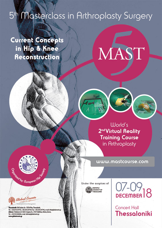 405. 5th Masterclass in Arthroplasty Surgery
