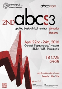 276. 2nd ABCS3 (Applied Basic Clinical Seminar with Scenarios for Students)