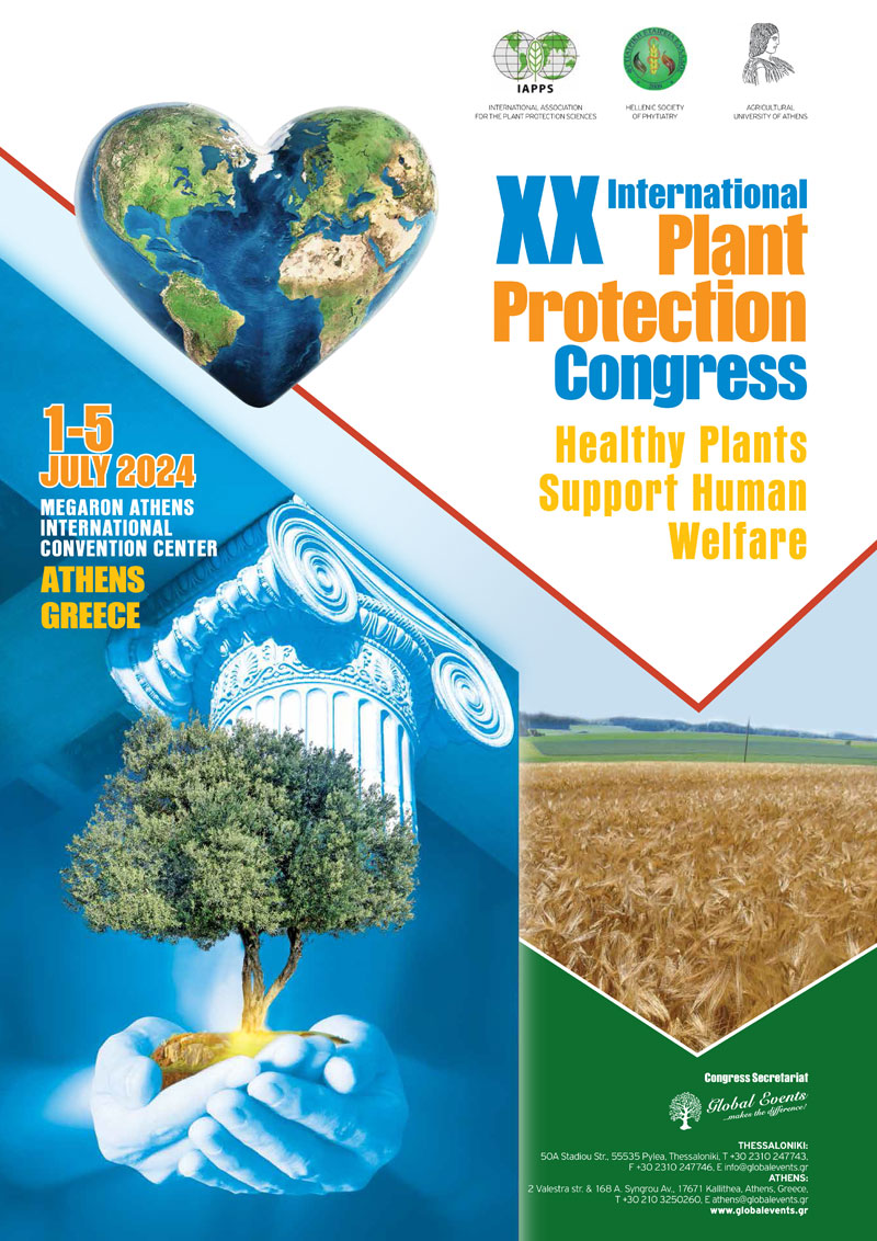 XX International Plant Protection Congress - Healthy Plants Support Human Welfare