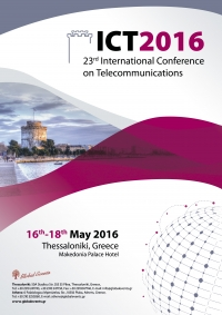 281. 23rd International Conference on Telecommunications