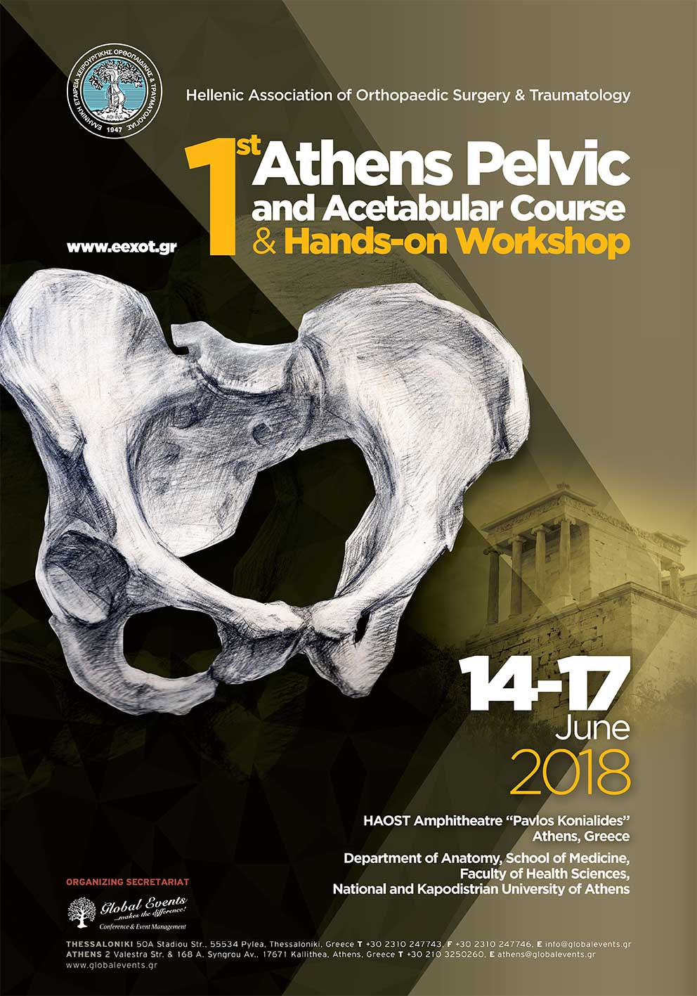 383. 1st Athens Pelvic and Acetabular Course and Hands-on Workshop