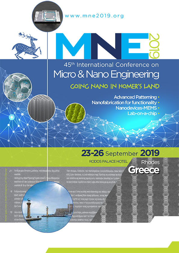 435. 45th International Conference on Micro & Nanofabrication Engineering  (MNE 2019)