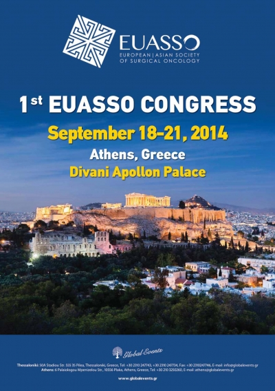 208. 1st Congress Of The European-Asian Society Of Surgical Oncology (EUASSO)